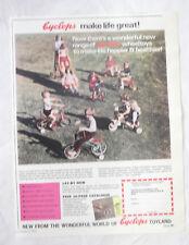 Cyclops Toys Advertisement from 1970 Australian Magazine