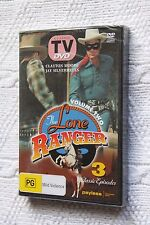 The Lone Ranger: 3 Classic Episodes (DVD), R-All, New and sealed, free shipping