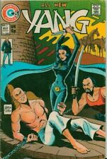 Yang #2, #3, #9, #11  Charlton  Comics 1974-1976