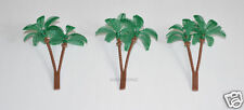 12 Palm Tree Cup Cake Picks Food Topper Beach Ocean Luau Tropical Party Supply