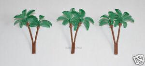 12 Palm Tree Cup Cake Picks Food Topper Beach Ocean Luau Tropical Birthday Party