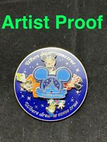 Disney WDW Where Dreams Come True Fab 4 Spinner Pin 58923 Artist Proof VERSION