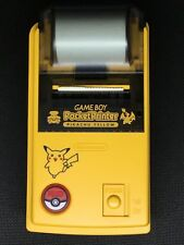Nintendo Gameboy Pocket Printer Pokemon Pikachu Yellow Version Japan *USA Seller