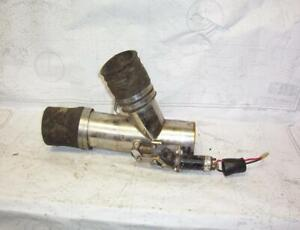 """Boaters' Resale Shop of TX 2102 4155.25 MERCRUISER 4"""" SS EXHAUST CUT-OUT VALVE"""