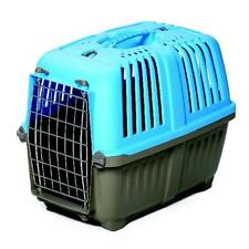 Pet Carrier: Hard-Sided Dog Carrier, Cat Carrier, Small Animal Carrier in Blue