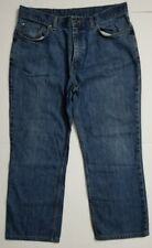 """BROOKS BROTHERS 346 Traditional Fit jeans TAG SZ 34 (34""""waist 25""""inseam measured"""