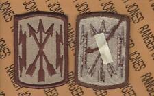 U.S. Army Soldier Media Center Desert DCU uniform patch m/e