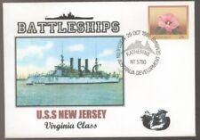 1981 US Battleships USS NEW JERSEY Northern Australia Development Postmark Cover