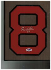 Rusney Castillo Red Sox Signed Jersey Number (PSA COA)
