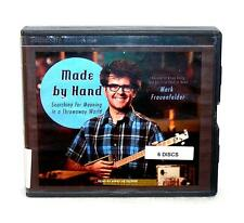 BOOK/AUDIOBOOK CD Mark Frauenfelder DIY Do It Yourself MADE BY HAND