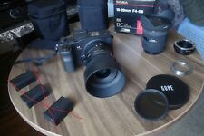 sigma sd quattro with 2 lens,  adapters and more..