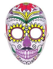 Halloween Costume Day of the Dead Sugar Skull Face Mask