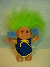 "~Rare~ Cheerleader Wind Up Toy - 4"" Unknown Maker"