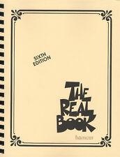 El libro real volumen 1 C instrumentos Sexta Edición Libro De Partituras