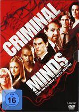 CRIMINAL MINDS DIE KOMPLETTE DVD STAFFEL / SEASON 4 DEUTSCH