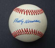 BILLY HERMAN Signed Feeney  Baseball  HOF PSA/DNA Autograph L59803