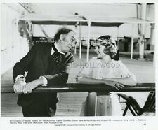 FREDDIE JONES  SARAH JANE VARLEY  FELLINI E LA NAVE VA 1983 VINTAGE PHOTO #1
