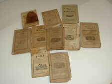 13 ALMANACS From The 1800s (some may be quite RARE)