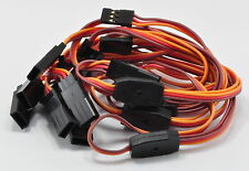 (5) JR / Hitec Y Servo Extension Leads / Splitters with 30CM 22awg Wire