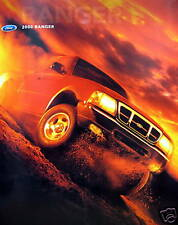 2000 Ford Ranger pickup truck new vehicle brochure