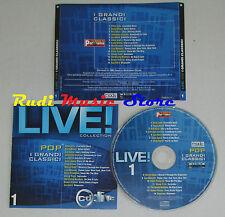 CD LIVE COLLECTION 1 DAVID BOWIE BOB DYLAN LOU REED ZUCCHERO JOHN (C9) mc lp dvd