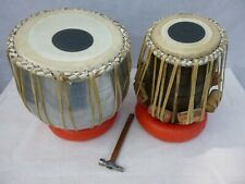 More details for tabla complete with carrying bag tuning hammer and balancing rings.