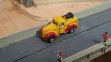 N Scale 1940 Ford Circus water/fire truck resin cast & hand painted