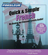 Pimsleur French Quick & Simple Course - Level 1 Lessons 1-8 CD: Learn to Speak and Understand French with Pimsleur Language Programs: Level 1 : Lessons 1-8 by Pimsleur (CD-Audio, 2011)