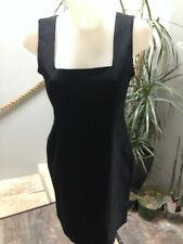 robe femme courte debardeur polyester viscose noir  Taille 38