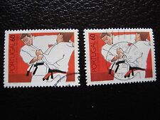 PORTUGAL - timbre yvert et tellier n° 1742 x2 obl (A28) stamp (R)