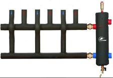 """Low Loss Header 1 1/2""""  100kW Coated + 3 Way insulated MANIFOLD - 1 1/2"""""""