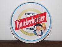 "VINTAGE BAR 11 3/4"" ACROSS KNICKERBOCKER RUPPERT BEER  METAL SERVING TRAY"