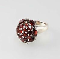 9927654 925er Silber Ring Granat Gr.53/54
