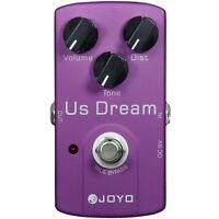 Joyo JF-34 US Dream High-Gain Distortion Guitar Effects Pedal w/ True Bypass