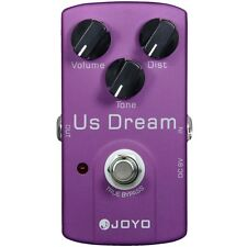 Joyo JF-34 US Dream High-Gain Distortion Guitar Effects Pedal w/ True Bypass