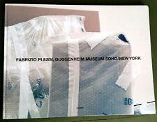 1998 FABRIZIO PLESSI Guggenheim Museum SOHO VIDEO ART GERMAN / ENGLISH OBLONG HC
