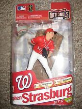 McFarlane MLB 2011 Series 27 Stephen Strasburg Wash. Nats Red Jersy CL515/1750