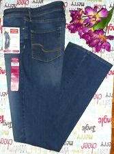 Signature By Levi Strauss & Co. Womens Modern Boot Cut Stretch 10L Blue Jeans