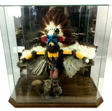 Paja Signed Kwahu The Eagle Dancer Kachina Lot 1044