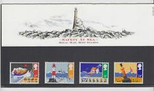 162 1985 SAFETY AT SEA STAMPS PRESENTATION PACK Great Britain GB