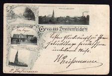 73479 AK Breitenfelde Lauenburg 1900 Kaiserl. Postagentur Lirche