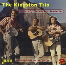 THE KINGSTON TRIO - LEADERS OF THE 60'S FOLK 2 CD NEW!