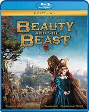 BEAUTY AND THE BEAST New Sealed Blu-ray + DVD 2014 French Production
