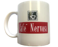 Cafe Nervosa Coffee Mug Frasier Crane Niles TV Show Restaurant Shop Tea Cup Gift