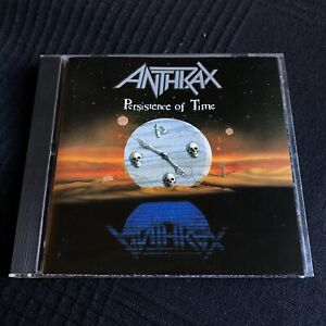 ANTHRAX cd PERSISTENCE OF TIME Heavy Metal