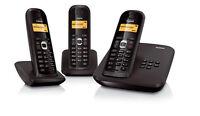 Siemens Gigaset AS200a Trio / AS 200a schnurlos analog Telefon mit AB AS200H