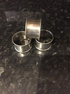 Napkin  rings Silver Colour From Selfridges