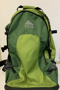 KELTY KIDS TC 2.1 Child Carrier Toddler Baby Hiking Backpack Aluminum Green