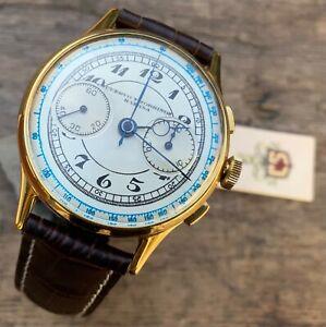 Cuervo y Sobrinos cronografo chronograph vintage 50's just serviced