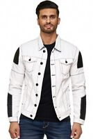 CIPO & BAXX HELL RACER MENS JEANS JACKET BIKER DENIM ALL SIZES
